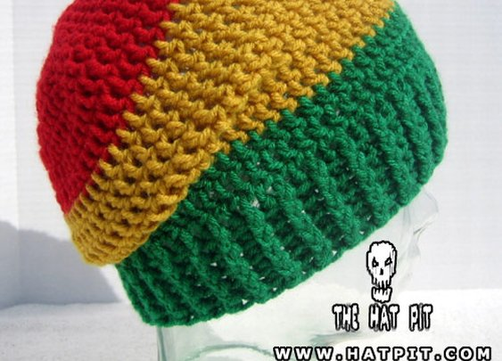 Friendship Beanie #12 Rasta Hat | The Hat Pit