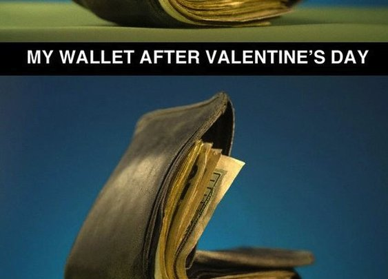 The only advantage to being single on Valentine's Day