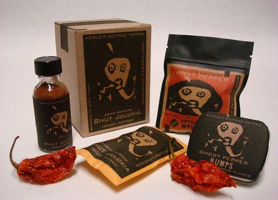 Bhut-Pepper | Ghost Cube