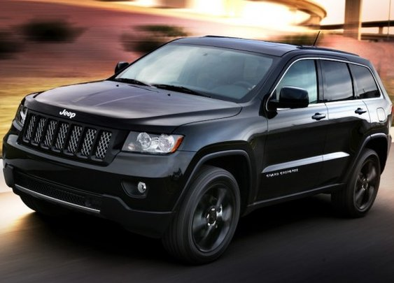 Stealthy Jeep Grand Cherokee Concept
