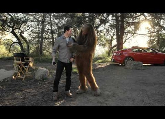 Sasquatch: How long does it take you to shave?