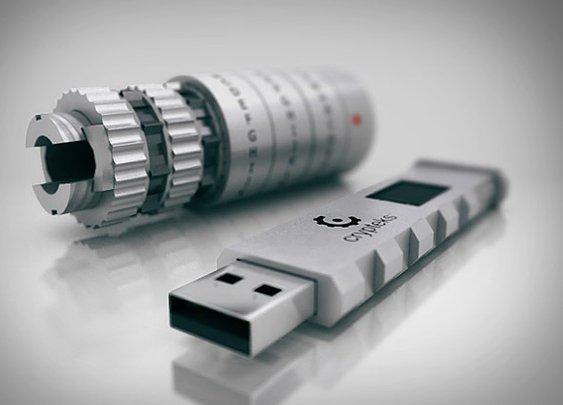 Crypteks USB Drive | Uncrate