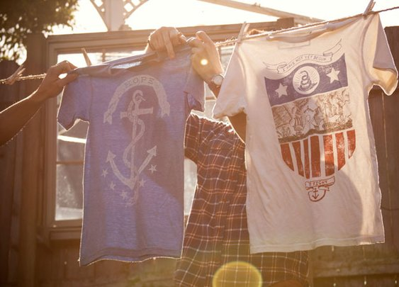 Declaration Clothing - Welcome - A Historically Themed Clothing Line
