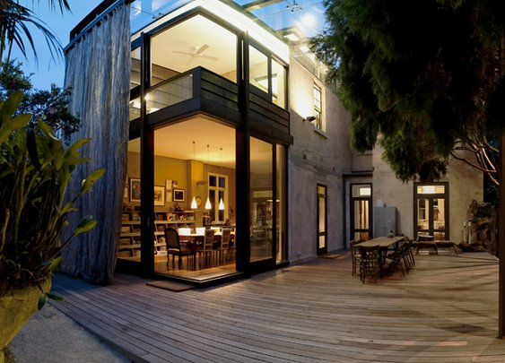 Glass Loggia House by Allen Jack+Cottier