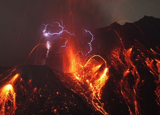 Photos of Sakurajima volcano ~ Pink Tentacle