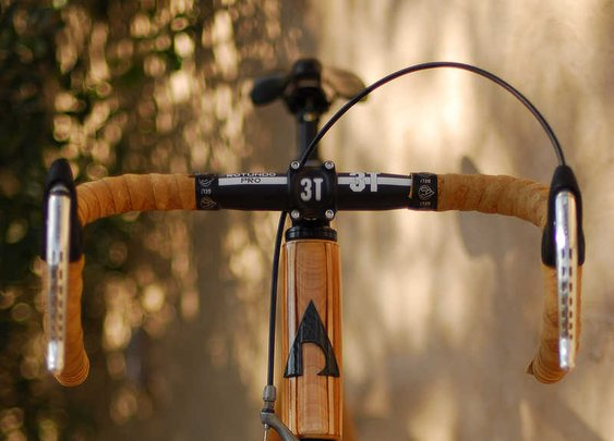 Alan Downey | Wooden Bicycle