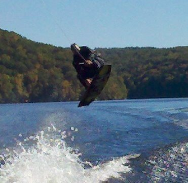 Wakeboarding and Boating / GRAB!