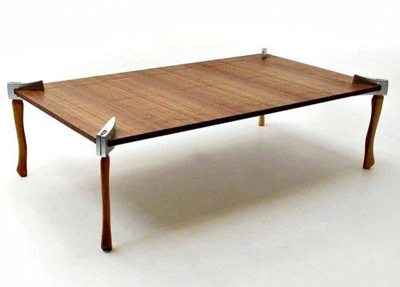 Woodsman Axe Coffee Table - Gentlemint - Gentlemint