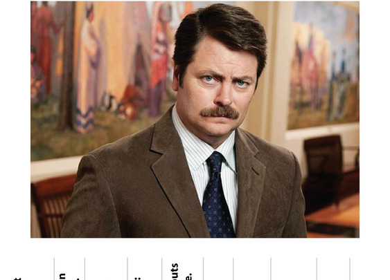 Ron Swanson's Free Advice