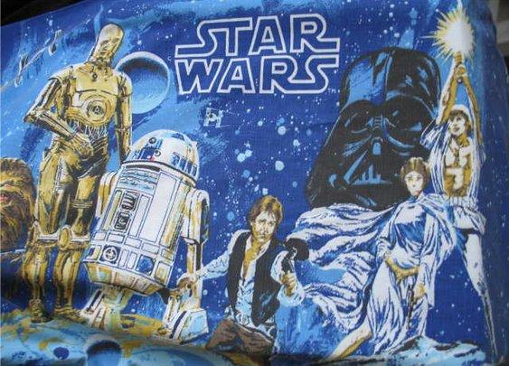 Vintage '70's Star Wars Pillow Case
