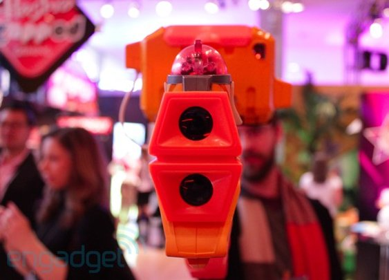 NERF Lazer Tag hands-on -- Engadget