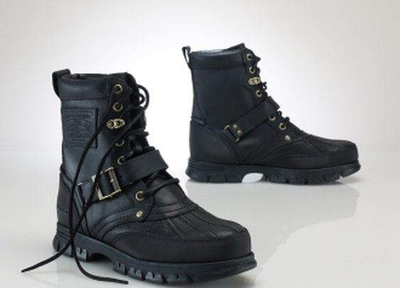 Ralph Lauren Tenard Leather Boots