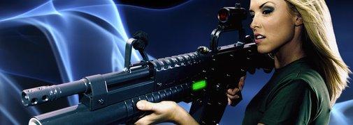 Laser Tag Guns at Hard Knocks | Hard Knocks - Orlando