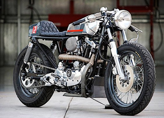 DP Customs Naked Cafe Motorcycle | Uncrate