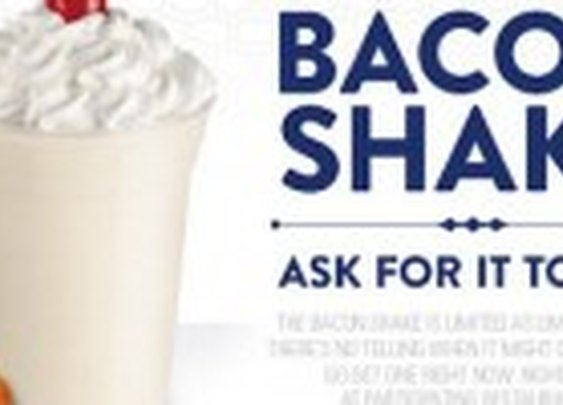The Bacon Shake from Jack in the Box