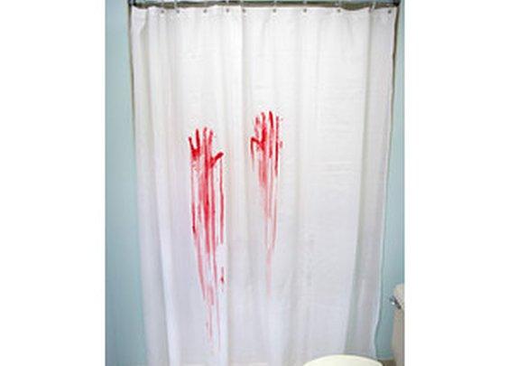 Horror Movie Shower Curtain & Bath Mat