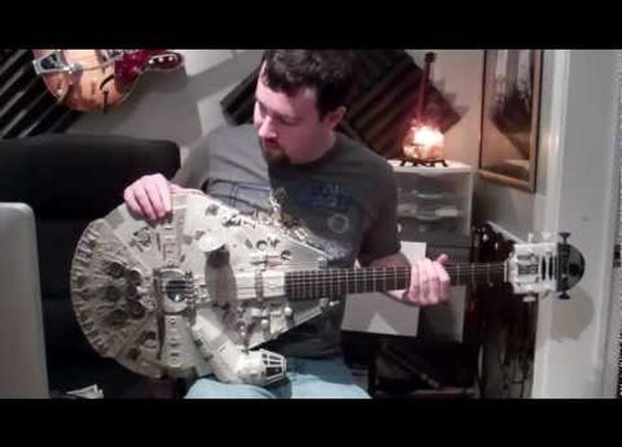 Star Wars Millennium Falcon Guitar