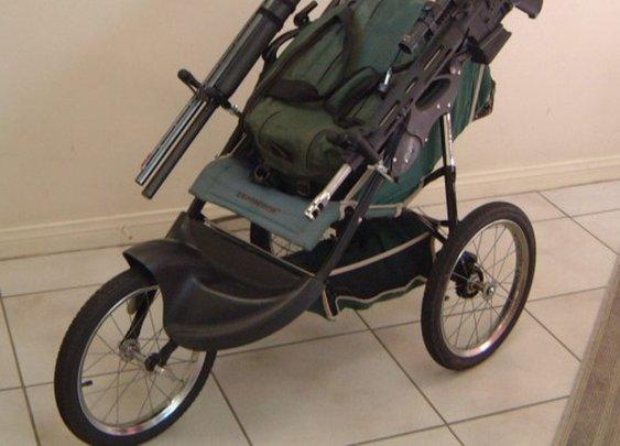 Tactical Baby Stroller