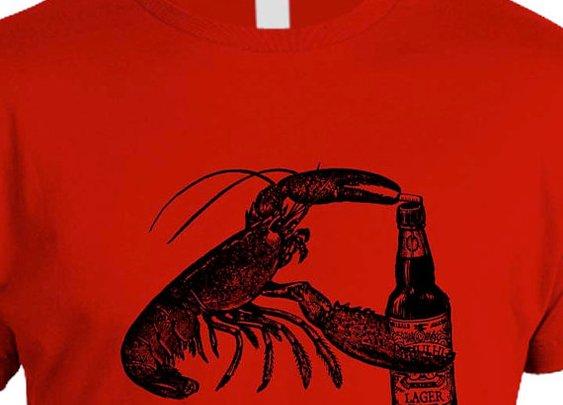 Beer Drinking Lobster