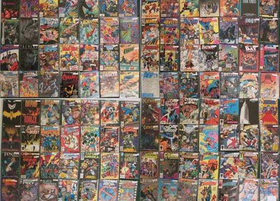 10,000 Comic Books For Sale