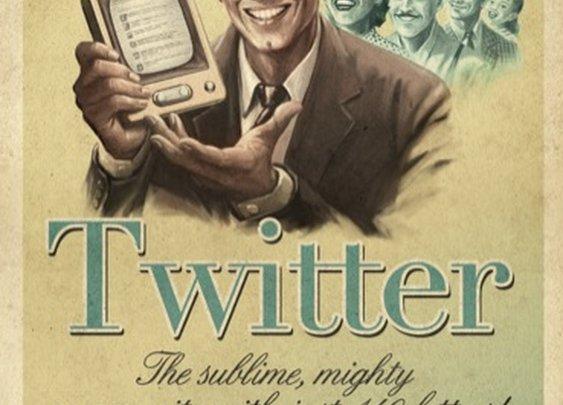 Social Media Vintage Ads