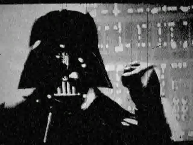 'Star Wars' as a silent film.