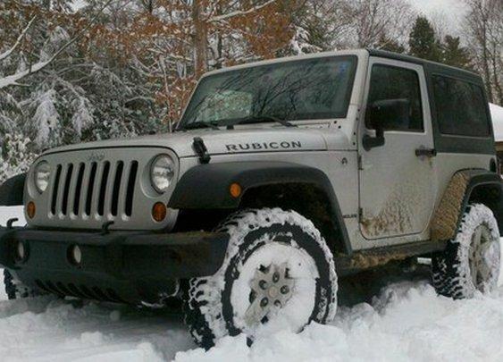 Jeep!!! / Let it f'n snow