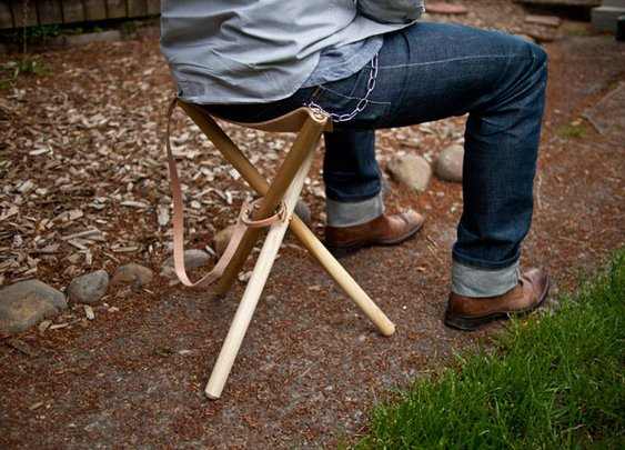 Build a Camping stool