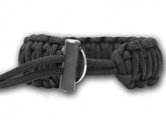 Wearable survival: Bison Designs fire-starting paracord bracelet