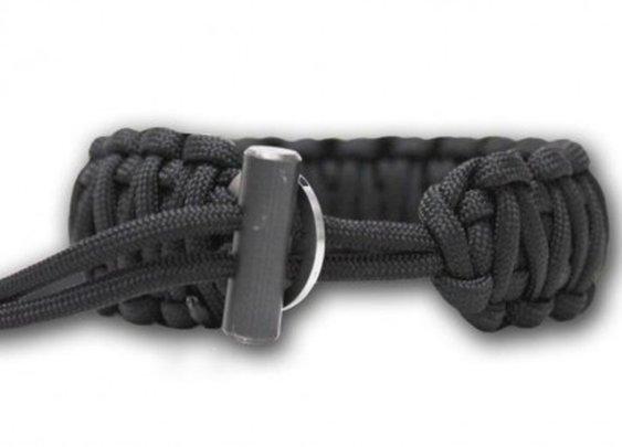 Wearable survival: Bison Designs fire-starting paracord bracelet