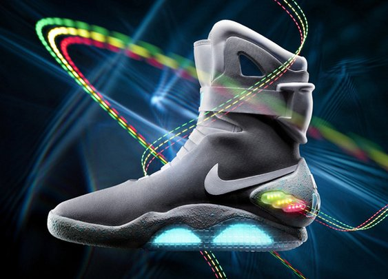"Nike Mag 2011 ""Back to the Future"" Sneakers"