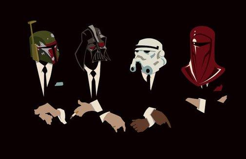 Star Wars The Womp Rat Pack Original Print by trythemonkey on Etsy