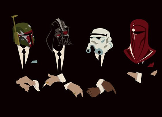 Star Wars The Womp Rat Pack Original Print by trythemonkey on Etsy