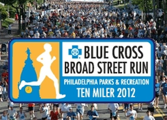 Blue Cross Broad Street Run // Sunday, May 6, 2012, 8:30 AM