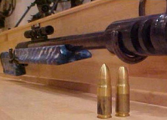 The McBro's 95 cal Rifle