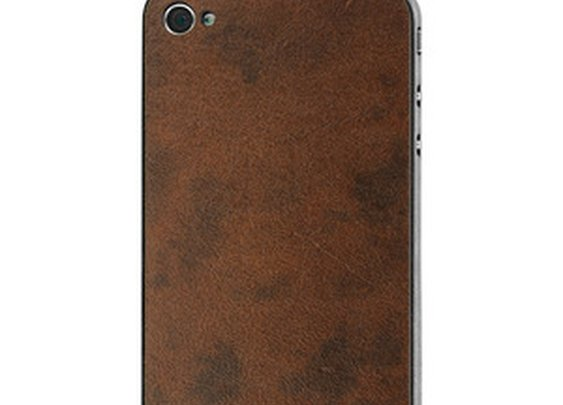 Adhesive Leather Backs for Apple Products