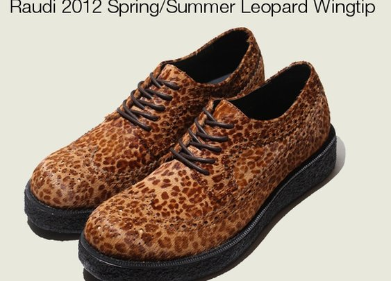 Must-Have: Raudi 2012 Spring/Summer Leopard Wintip Creeper
