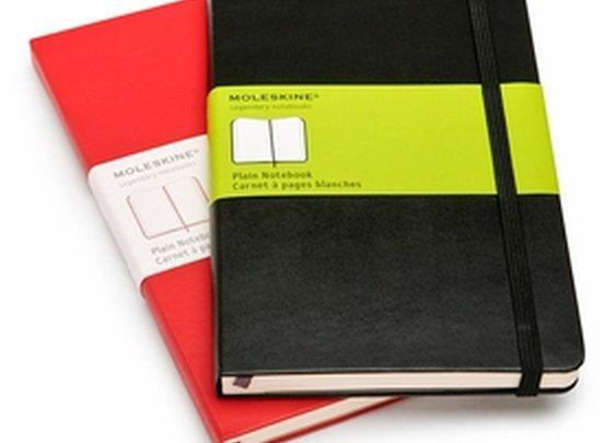 Moleskine Classic Large Plain Notebook (5 x 8.25), MoleskineUS