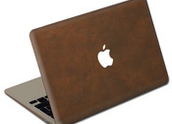 Valentine Goods — Oil Stained Brown MacBook Cover