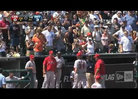 Jered Weaver gets ejected - YouTube