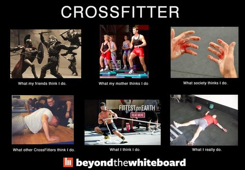 What a Crossfitter does