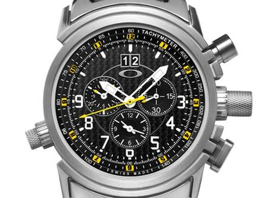 Oakley 12 GAUGE Titanium Special Edition Watch