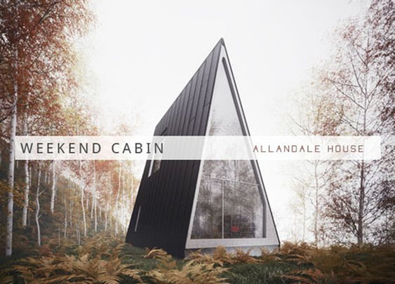 Weekend Cabin: Allandale House