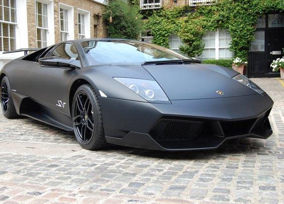 Black Matte Lamborghini Murciélago