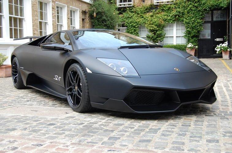 Black Matte Lamborghini Murci 233 Lago Gentlemint