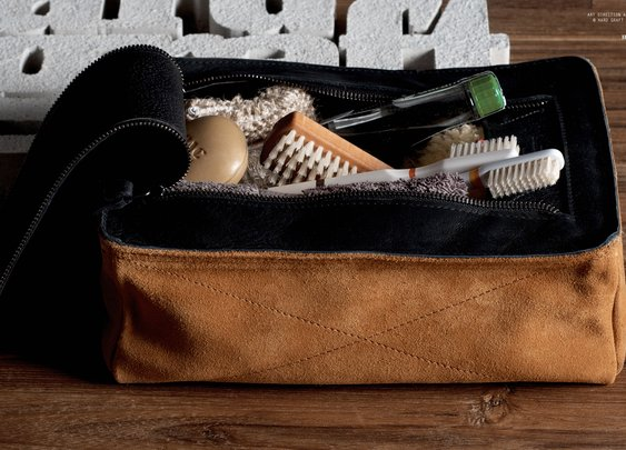 Hard Graft - Dopp Kit / Campfire