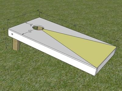 How to Build a Regulation Corn Hole Game : How-To : DIY Network