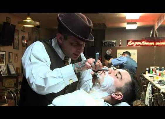 The Straight Razor Shave Lecture with Donnie Hawley - YouTube