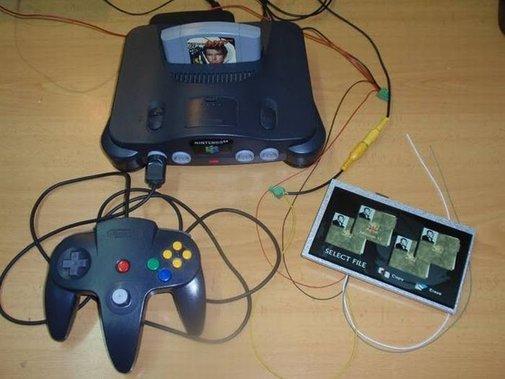 Curiosities: Transforming a Nintendo 64 into a Handheld Console