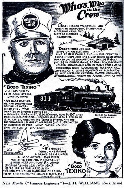 "James Herbert McKinley aka ""Bozo Texino"""
